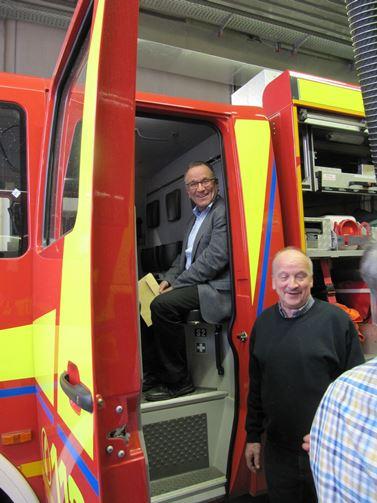 Feuerwehr Pfuhl-Hilfeleistungen auf hohem Niveau