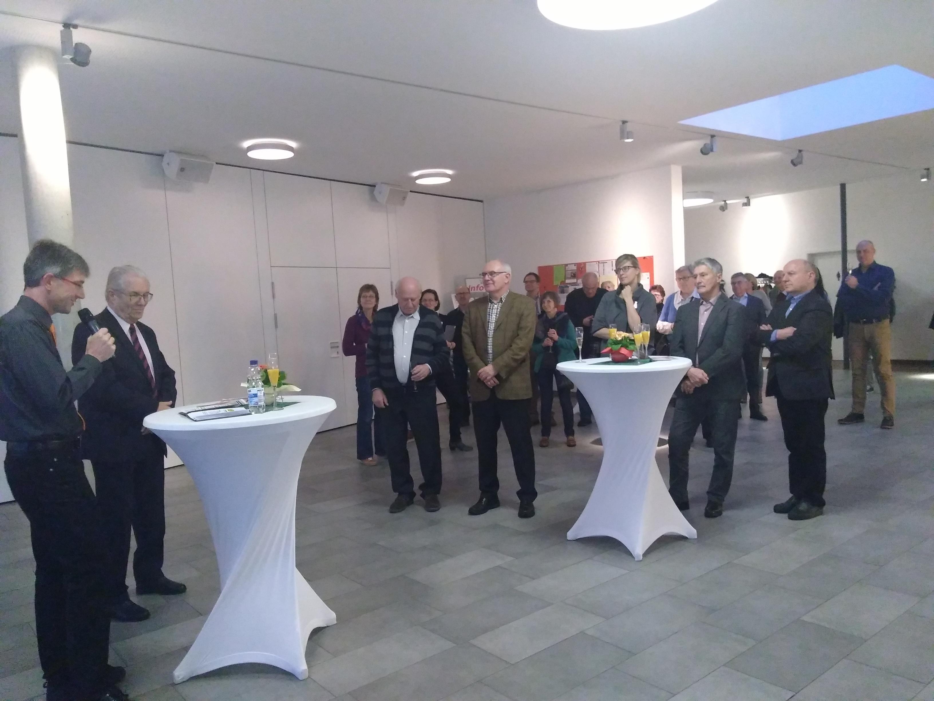 Erlebnisausstellung zum Grundgesetz bei der Landeskirchlichen Gemeinschaft Pfuhl