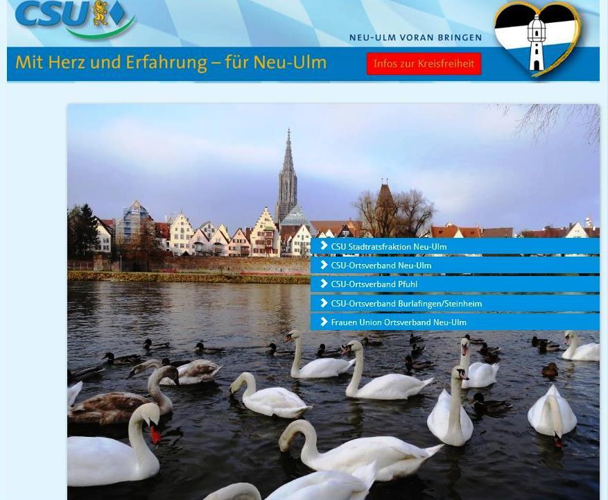 Beurteilung unserer Homepage